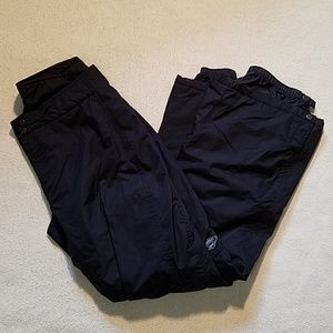 COLUMBIA BUGABOO BLACK SNOW PANTS SZ L